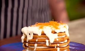 CARROT PAN CAKES