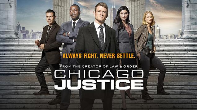 CHICAGO JUSTICE 1^TV