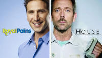 ROYAL PAINS + DR.HOUSE