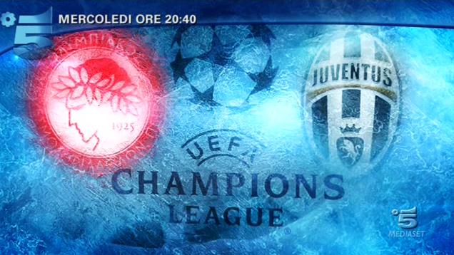 Le emozioni di Olympiacos - Juventus