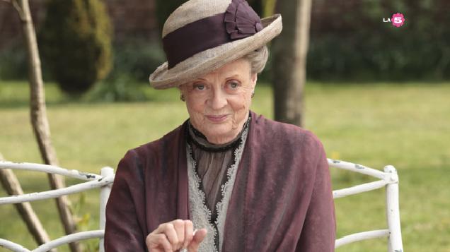 Lady Violet Crawley contessa madre di Grantham