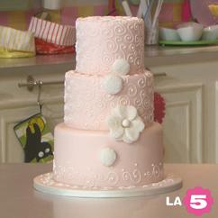 Torte d 39 autore 2 torta pink a tre piani la 5 for Piani a tre piani