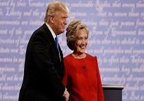 I candidati alla presidenza negli Stati Uniti Hillary Clinton e Donald Trump