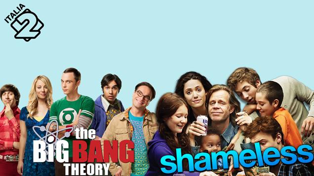 THE BIG BANG THEORY IX + SHAMELESS VI 1^TV