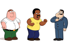 I GRIFFIN - THE CLEVELAND SHOW PRIMATV