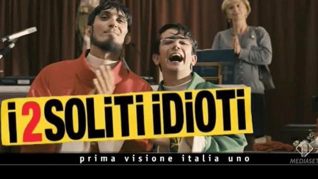 """""""I 2 Soliti Idioti"""" Prima TV"""