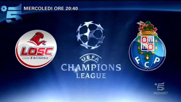 Champions League: Lille-Porto
